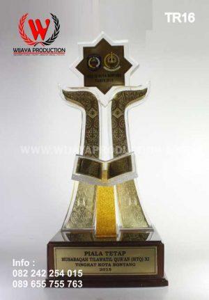 Piala MTQ Material Akrilik