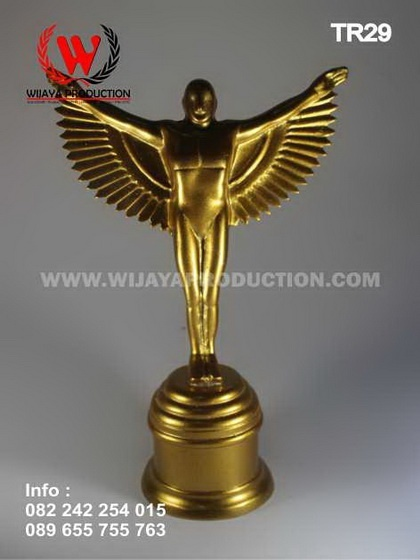 Piala Award Material Fiber