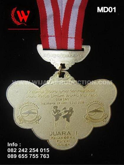 Medali Kejurnas Wushu Junior