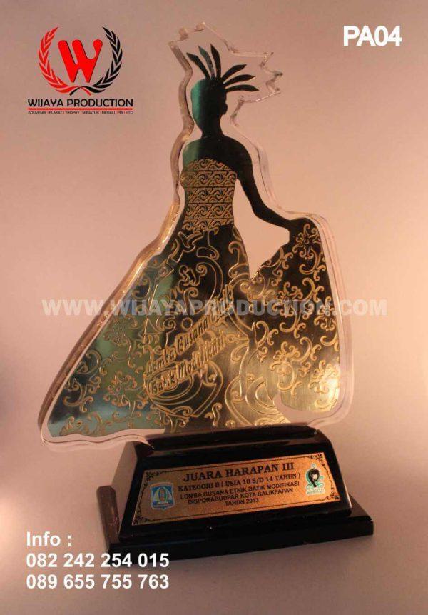 Plakat Penghargaan Lomba Busana Etnik