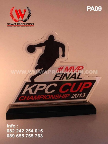 Plakat Akrilik Basket MVP KPC Cup