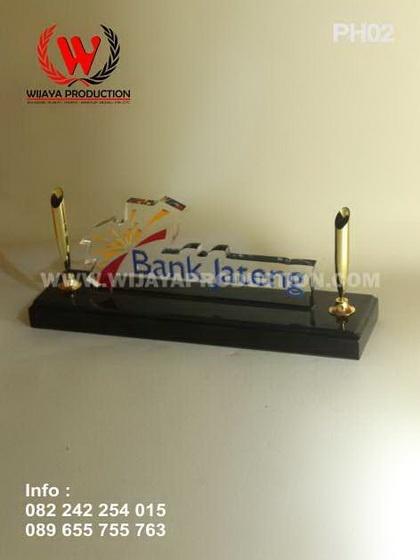 Plakat Pen Holder Bank Jateng