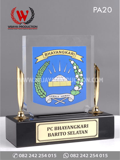 Plakat Akrilik Pen Holder PC Bhayangkari